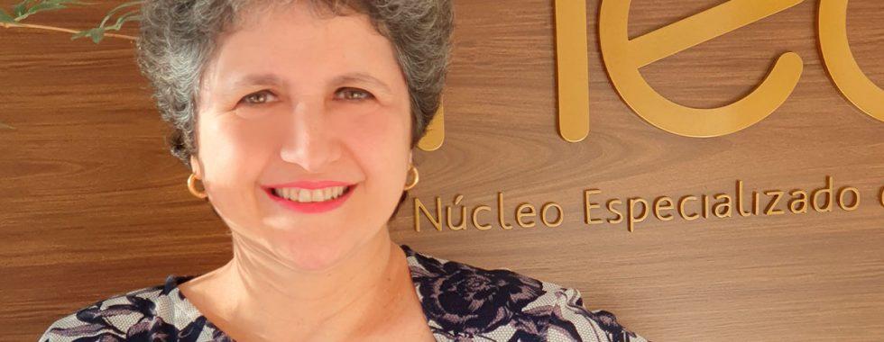 Nereida Marques de Sant'Anna, paciente de câncer de mama